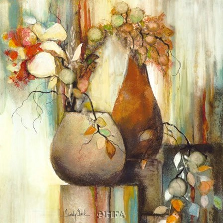 Still Life Illusion II by Sandy Clark art print