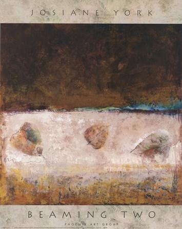 Beaming Two by Josiane York art print
