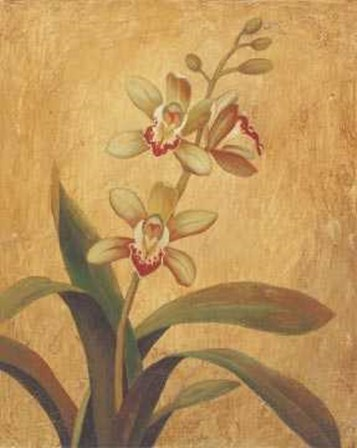 Orchid In Landscape I by Victoria Hassy art print