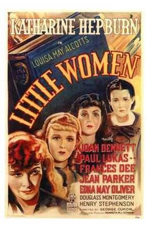 Little Women - faces art print