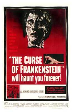 Curse of Frankenstein art print