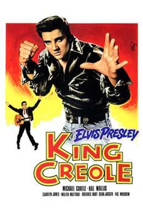 King Creole Leather Jacket art print
