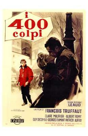400 Blows - kiss art print