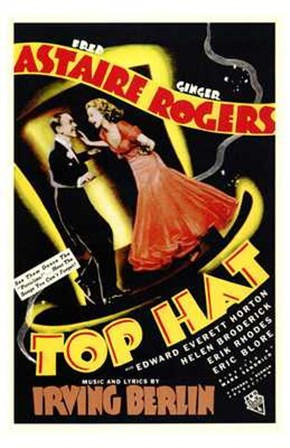Top Hat - Astaire Rogers art print