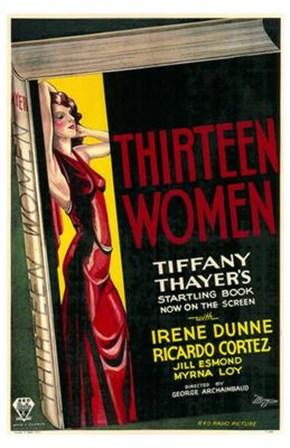 Thirteen Women art print