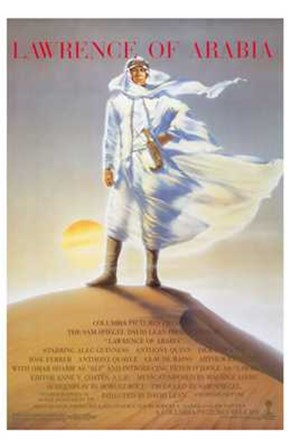 Lawrence of Arabia Sand Dune art print