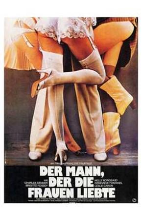 The Man Who Loved Women German art print