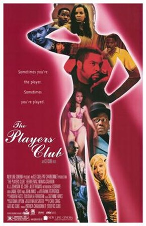 The Players Club - woman figure art print