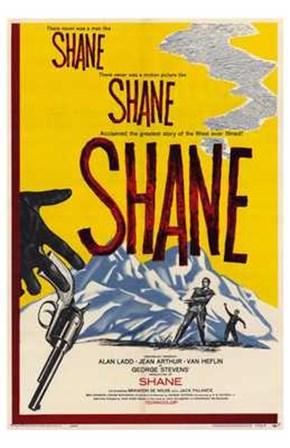 Shane, Shane, Shane art print