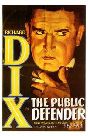 The Public Defender art print