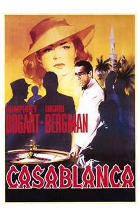 Casablanca Roulette Table art print