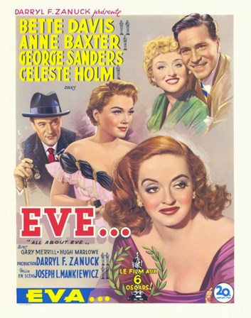 All About Eve art print