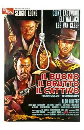 The Good  the Bad and the Ugly Italian art print