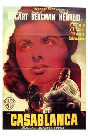 Casablanca Close Up art print