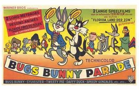 Bugs Bunny Parade art print