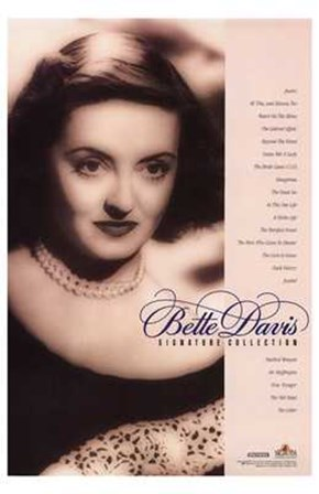 Bette Davis Signature Collection art print