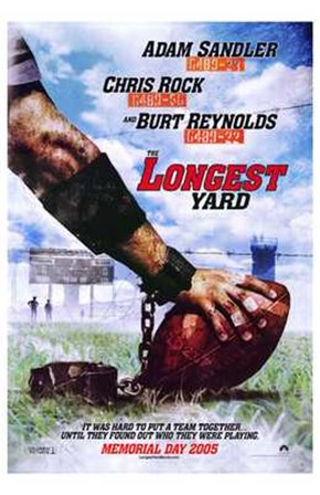 The Longest Yard 2005 art print