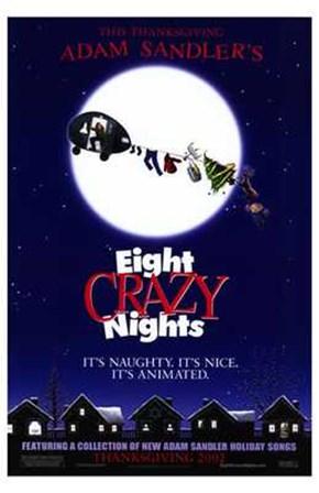 Adam Sandler's Eight Crazy Nights art print