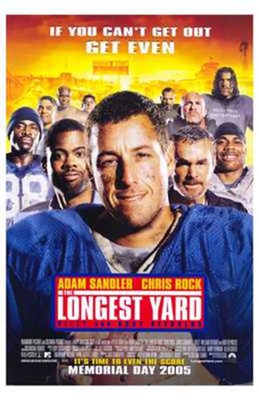 The Longest Yard Adam Sandler art print
