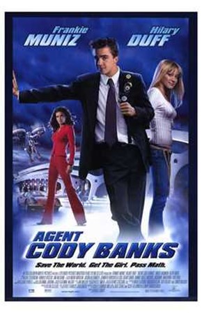 Agent Cody Banks art print