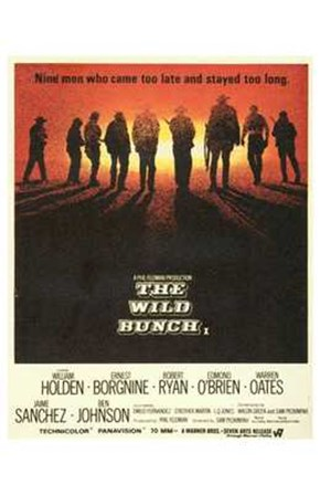The Wild Bunch - movie art print