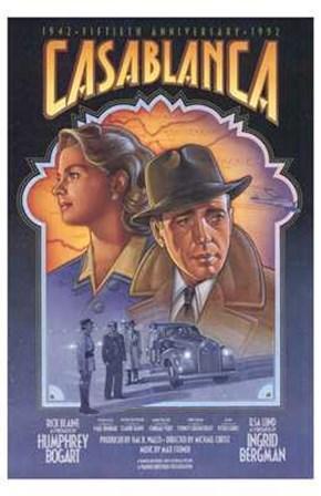 Casablanca Art Deco art print