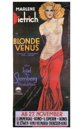 Blonde Venus - posed art print