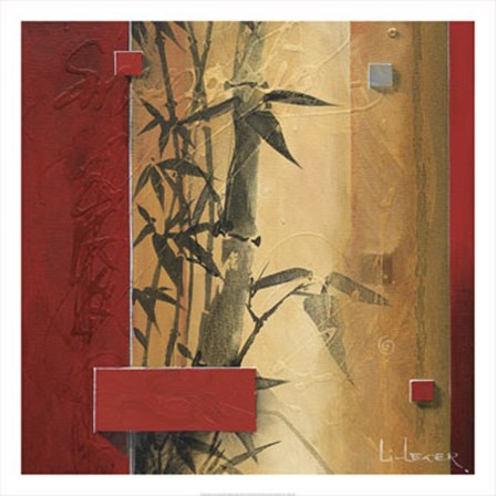 Bamboo Garden by Don Li-Leger art print