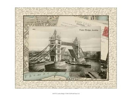 London Bridge by Vision Studio art print