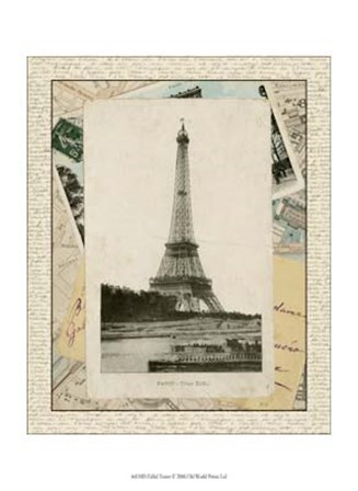 Eiffel Tower by Vision Studio art print