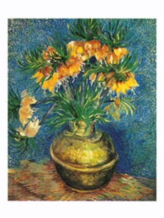 Crown Imperial Fritillaries in a Copper Vase, c.1886 by Vincent Van Gogh art print