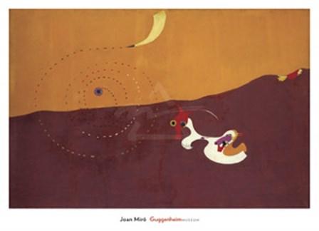 Landscape (The Hare) (Paysage [Le Lievre]), Autumn 1927 by Joan Miro art print
