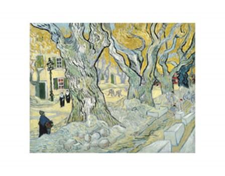 The Road Menders, c.1889 by Vincent Van Gogh art print