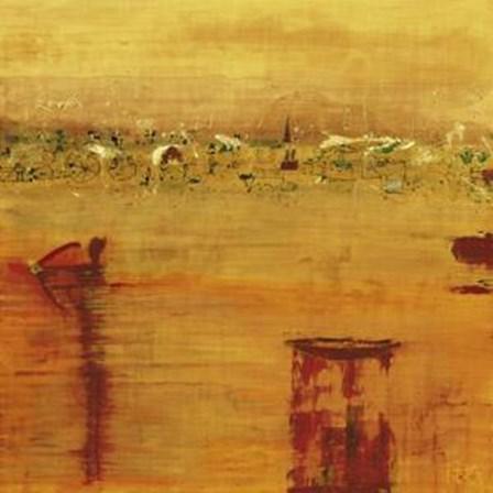 Orange Landscape by Rose Richter-Armgart art print
