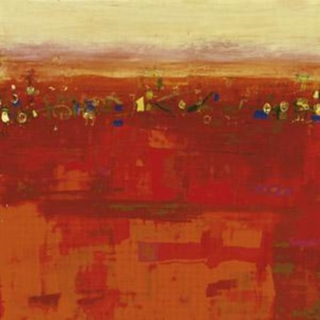 Red Landscape by Rose Richter-Armgart art print
