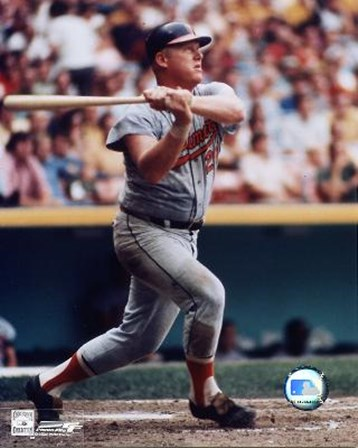 Boog Powell - Batting art print