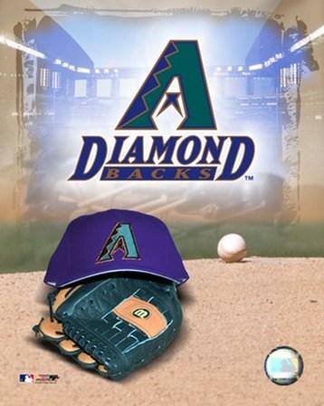 Arizona Diamondbacks - '05 Logo / Cap and Glove art print