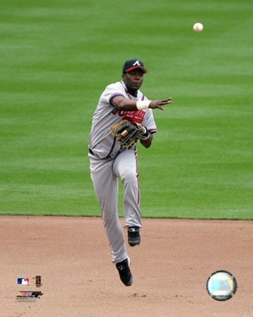 Edgar Renteria -  2006 Fielding Action art print