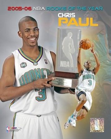 Chris Paul - 2006 Rookie Of The Year art print
