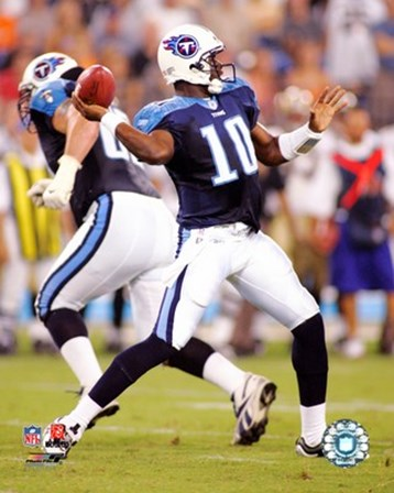 Vince Young - '06 / '07 in action art print
