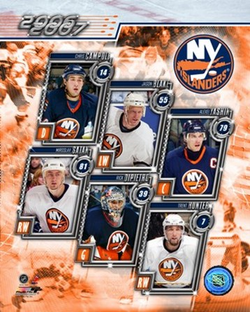 '06 / '07- Islanders Team Composite art print