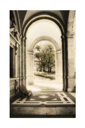 Portico by Dianne Poinski art print