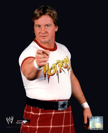 Rowdy Roddy Piper - #351 art print