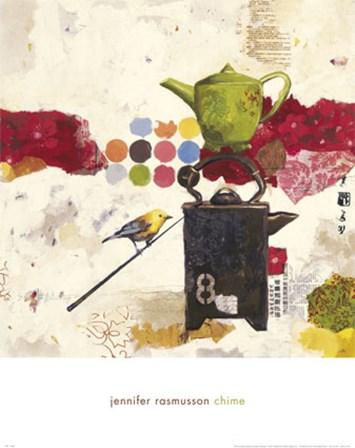 Chime by Jennifer Rasmusson art print