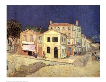 The Yellow House, Arles, c.1888 by Vincent Van Gogh art print