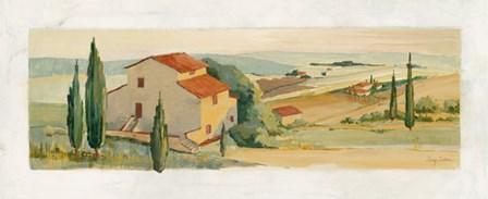 Villa d'Arezzo by Avery Tillmon art print
