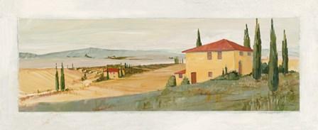Villa di Volterra by Avery Tillmon art print