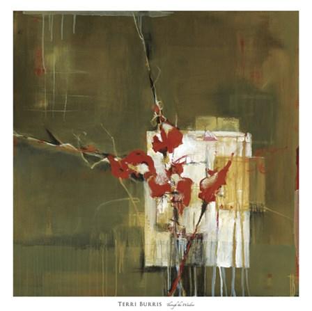 Through the Window by Terri Burris art print