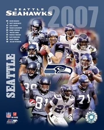 2007 - Seahwks Team Composite art print