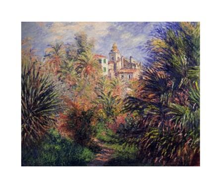 Gardens at Bordighera, 1884 by Claude Monet art print